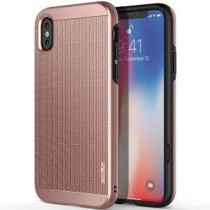 Protect your iPhone X with this ultra slim case in rose gold, which protects as well as providing a stunning full body protection in an attractive dual design.