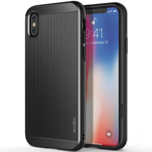 Protect your iPhone X with this ultra slim case in titanium black, which protects as well as providing a stunning full body protection in an attractive dual design.