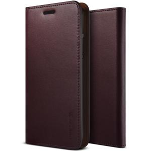Protect your iPhone X with this precisely designed flip case in wine red from VRS Design. Made with genuine premium leather, the VRS Design Diary oozes style and attractiveness.