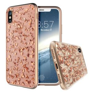 Add a touch of bling to your iPhone X, whilst keeping it well protected with the rose gold Scene Treasure Case from Prodigee. Slim, light and incredibly attractive, this case really does have it all and is screen protector friendly.