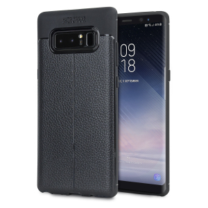 Flexible, rugged casing with a premium textured non-slip leather-effect and smooth matte finish, allied to beautiful engineered lines and executive looks, make the Olixar Attache a case for the discerning Note 8 user. Sleek, light and very robust.