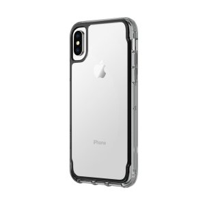 View the beauty of your phone from within a protective see-through case with the Griffin Survivor Clear in smoke black for the iPhone X. Designed and tested to military standards, the Survivor Clear features up to 1.8 metres of drop protection.