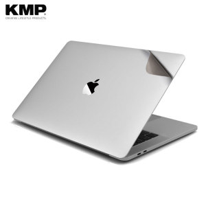 "Keep your MacBook Pro 13 with Touch Bar safe from dirt and scratches with this protective skin from KMP. This ""second skin"" effortlessly attaches to the surface of your MacBook, shielding it from surface damage and taking nothing away from the aesthetic."