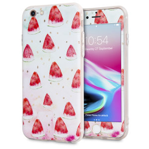 Enhance and protect your iPhone 6S / 6 with a taste of paradise with a stunning case from LoveCases. Your iPhone fits perfectly into the secure, durable frame, while the What-a-Melon design adds a touch of on-trend beauty to your already-gorgeous device.