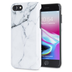 Enhance and protect your iPhone 8 / 7 with this glamorous classic white case from LoveCases. Your iPhone fits perfectly into the durable frame, while a classical marble-effect design adds a touch of historic prestige to your already-gorgeous device.
