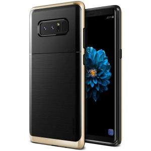 Protect your Samsung Galaxy Note 8 with this precisely designed high pro shield series case in shine gold from VRS Design. Made with tough dual-layered yet slim material, this hardshell body with a sleek bumper features an attractive two-tone finish.