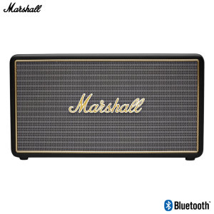 With this compact, powerful Bluetooth speaker, you can enjoy your favourite songs enhanced by the classic signature sound of Marshall amplifiers. Connect your device wirelessly and supercharge your playlists with a musical household name.