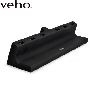 Charge up to 6 devices including smartphones, tablets etc with the Veho TA-6 USB charging hub. Ideal for use at home or at work, the TA-6 keeps your desk tidy and charges your devices quickly. Featuring UK, US and EU mains adapters for worldwide use.