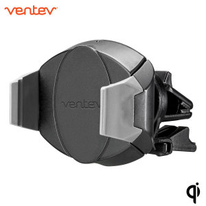 Wirelessly fast charge your Qi-enabled smartphone in the car with the Ventev wireless charging in-car kit. Securely position your phone in either portrait or landscape all while enjoying convenient, speedy and efficient Qi wireless fast charging.