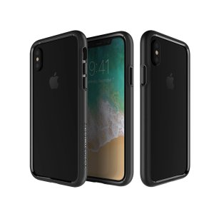 The Patchworks Level Silhouette in black is a hard-wearing, sturdy and attractive bumper case for iPhone X. Three layers of protection and military-grade drop protection shield your phone from everyday drops and bumps.