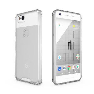 Específicamente diseñada para el Google Pixel 2, la funda Olixar ExoShield proporciona una protección delgada pero muy robusta, ideal para evitar que el teléfono se dañe mientras que lo mantiene perfectamente visible.