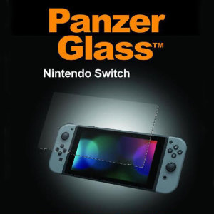 Introducing the glass protector for your Nintendo Switch portable gaming console. Designed to be shock and scratch resistant, PanzerGlass offers the ultimate protection. The screen protector is easy to install with ultra clear visibility.