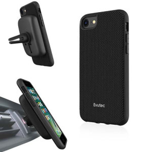 Protect your stunning iPhone 8 with the AERGO Ballistic Nylon case in black from Evutec. The AERGO features Evutec's proprietary material Evusoft, which offers peerless shock absorption, and comes complete with the AFIX+ magnetic in-car mount system.