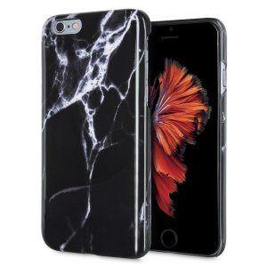 Enhance and protect your iPhone 6S / 6 with this glamorous black case from LoveCases. Your iPhone fits perfectly into the secure, durable frame, while a classical marble-effect design adds a touch of historic prestige to your already-gorgeous device.