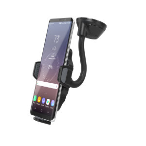 Wirelessly fast charge your Qi-enabled smartphone in the car with the Scosche wireless charging mount. Securely mount your phone - either on your dash or windscreen - all while enjoying convenient, speedy and efficient Qi wireless charging.