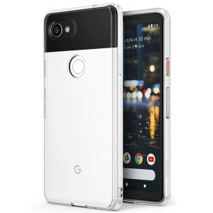 Protect the back and sides of your Google Pixel 2 XL with this incredibly durable and clear backed Fusion Case by Ringke.