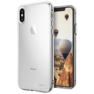 Protect the back and sides of your iPhone X with this incredibly durable and crystal backed Air Case by Ringke.