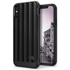 The Rearth Ringke Flex S Pro in titanium black is a flexible, durable and sturdy case with a modern aesthetic. Treat your iPhone X to superlative protection and enhance its already gorgeous aesthetic with this sleek, elegant cover.