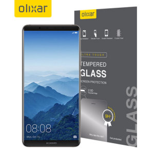 This ultra-thin case compatible tempered glass screen protector for the Huawei Mate 10 Pro from Olixar offers toughness, high visibility and sensitivity all in one package.