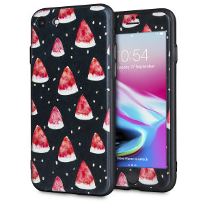 Enhance and protect your iPhone 8 / 7 with a taste of paradise with this stunning case from LoveCases. A durable frame offers a perfect fit, whilst a Meloncholy design adds a touch of on-trend beauty to your iPhone. Comes with a free screen protector.