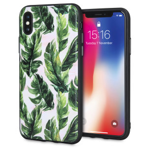 Enhance and protect your iPhone X with a taste of paradise with this stunning case from LoveCases. Your iPhone fits perfectly into the secure, durable frame, while the Jungle Boogie design adds a touch of on-trend beauty to your already-gorgeous device