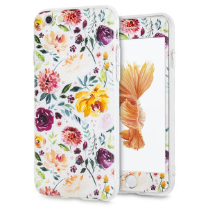 Enhance and protect your iPhone 6S / 6 with this charmingly chic case from LoveCases. Your iPhone fits perfectly into the secure, durable frame, while a classical white floral design adds a touch of rustic on-trend beauty to your already-gorgeous device.