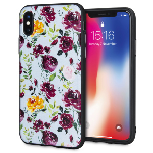 Enhance and protect your iPhone X with this charmingly chic case from LoveCases. Your iPhone fits perfectly into the secure, durable frame, while a classical blue floral art design adds a touch of rustic on-trend beauty to your already-gorgeous device.
