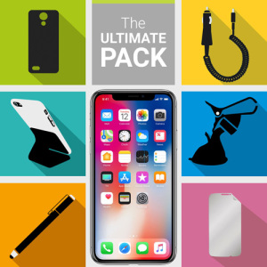 The Ultimate Pack for the iPhone X consists of fantastic must have accessories designed specifically for your device.