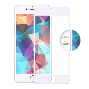 Made from high quality tempered glass, the Zizo Full Edge-to-Edge Lightning Shield provides crystal clear view and protection for your white Apple iPhone 7. The bubble-free installation takes a matter of seconds, making for a quick and easy application.