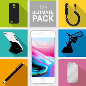 The Ultimate Pack for the iPhone 8 consists of fantastic must have accessories designed specifically for your device.