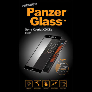 Introducing the premium range PanzerGlass glass screen protector in black. Designed to be shock and scratch resistant, PanzerGlass offers the ultimate protection, while also matching the colour of your stunning Sony Xperia XZ.