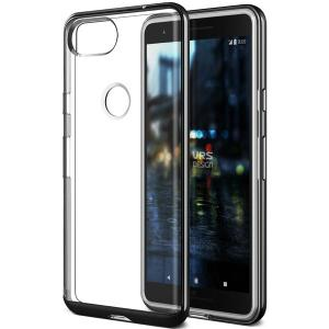 Protect your Google Pixel 2 with this precisely designed metallic black case from VRS Design. Made with a sturdy yet minimalist design, this see-through case offers protection for your phone while still revealing the beauty within.