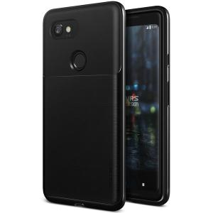 Protect your Google Pixel 2 XL with this precisely designed high pro shield series case in Metallic Black from VRS Design. Made with tough dual-layered yet slim material, this hardshell body with a sleek bumper features an attractive Metallic Black finish