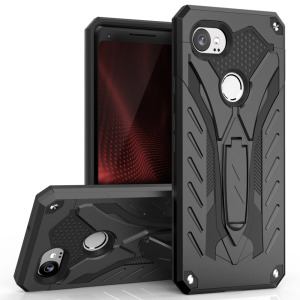 Equip your Google Pixel 2 XL with military grade protection and superb functionality with the ultra-rugged Static case in black from Zizo. Coming complete with a handy kickstand for viewing media in both portrait and landscape.