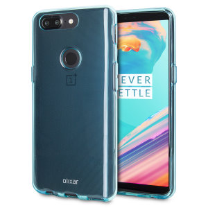 Custom moulded for the OnePlus 5T, this Blue FlexiShield case from Olixar provides a slim fitting and durable protection against damage, with an alluring modern blue appearance.
