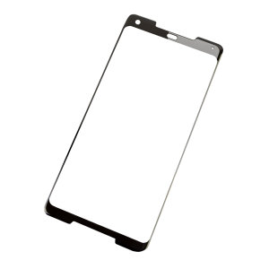 This ultra-thin full cover tempered glass screen protectors for the Google Pixel 2 XL with black front from Olixar offers toughness, high visibility and sensitivity all in one package.