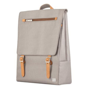 Crafted with ergonomics in mind, Moshi's Helios bag in titanium grey utilizes innovative materials and modern design to exude a stress-free attitude with a distinctive, stylish facade.
