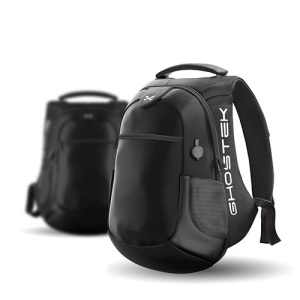 The NRGbag Series 2 in black combines 40L of capacity, water-resistant rugged material and 16000mAh of rechargeable battery to create the ultimate tech backpack.