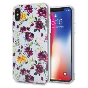Protégez et améliorez l'apparence de votre iPhone X avec un style chic à l'aide de cette superbe coque LoveCases Floral Art. Dotée d'un cadre rigide, elle offre un maintient et un ajustement parfait, tandis que le superbe design bleu et blanc floral ajoute une touche tendance à votre iPhone X.