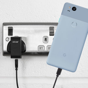 Charge your Google Pixel 2 and any other USB device quickly and conveniently with this compatible 2.5A high power USB-C UK charging kit. Featuring a UK wall adapter and USB-C cable.