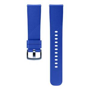 Treat your brand new Gear Sport smartwatch with the ultra-high quality Silicon strap in blue. Comfortable, durable and stylish, this strap is the perfect way to personalise your Gear Sport. Size M.