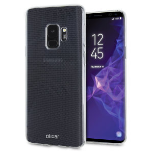 Olixar Ultra-Thin Samsung Galaxy S9 Case - Transparant