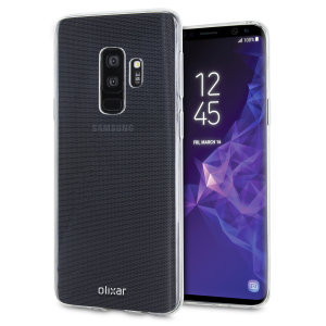 Olixar Ultra-Thin Samsung Galaxy S9 Plus Deksel - 100% Klar