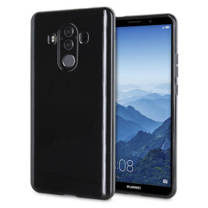 Custom moulded for the Huawei Mate 10 Pro, this solid black FlexiShield case provides slim fitting and durable protection against damage.