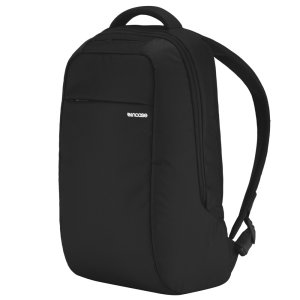 Organize, protect and carry your MacBook and other essentials with ICON Lite Laptop Backback in black. With faux-fur lined pockets, padded shoulder straps and 12L of capacity, the ICON Lite is the ultimate backpack.