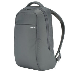 Organize, protect and carry your MacBook and other essentials with ICON Lite Laptop Backback in grey. With faux-fur lined pockets, padded shoulder straps and 12L of capacity, the ICON Lite is the ultimate backpack.