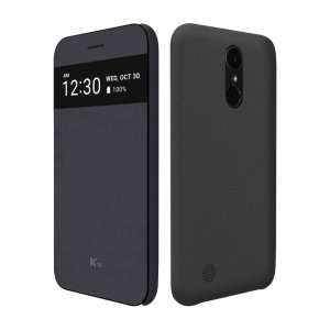 The LG K10 2017 Quick View case offers excellent protection and functionality in a sophisticated package. The main feature of this case is that it gives you access to notifications and calls without you having to open up the case.