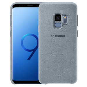 Original Samsung Zubehör. Die Bumper Style Tasche gibt dem Samsung Galaxy S9 einen schlanken aber robusten Schutz smartphone.