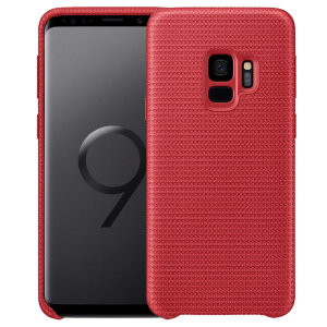 Protect your Samsung Galaxy S9 with this Official Hyperknit case in red. Stylish and protective, this case is the perfect accessory for your Galaxy S9.