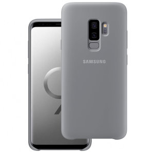 Protect your Samsung Galaxy S9 Plus with this Official silicone case in grey. Simple yet stylish, this case is the perfect accessory for your S9 Plus.